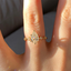 18K Yellow Gold Poetica Diamond Ring, smalladditional view 2