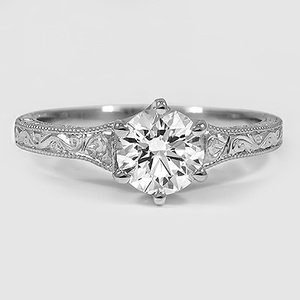 Platinum Hudson Ring