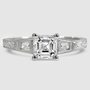 Platinum Regalia Diamond Ring