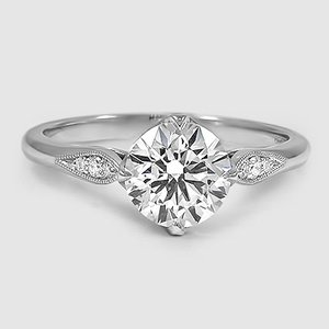 Platinum Jolie Diamond Ring