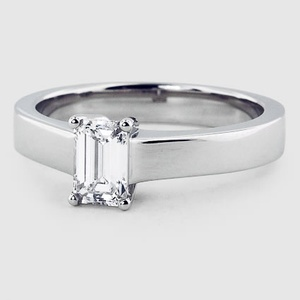 Platinum Marina Ring