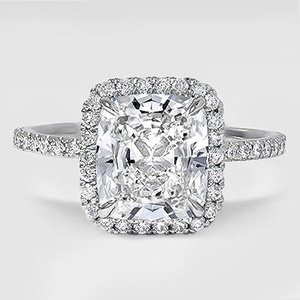 Platinum Waverly Diamond Ring (1/2 ct. tw.)