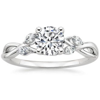 pic · 18K White Gold. WILLOW DIAMOND RING