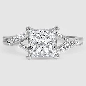 Trellis Twist Engagement Ring Chamise Brilliant Earth