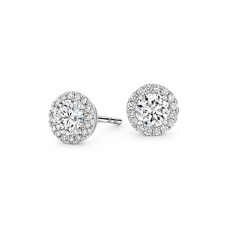 Luxe Diamond Halo Earrings (1 1/10 ct. tw.)