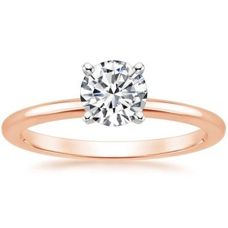 Shop Rose Gold Engagement Rings Brilliant Earth