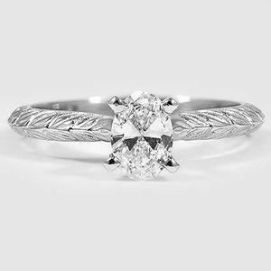 Platinum Garland Ring