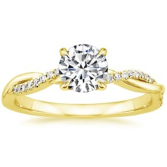 Yellow Gold Engagement Rings Brilliant Earth