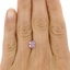 7x5.9mm Unheated Peach Radiant Sapphire, smalladditional view 1