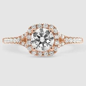 14K Rose Gold Joy Diamond Ring
