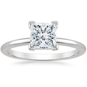 pic - Princess Cut Diamond Wedding Ring