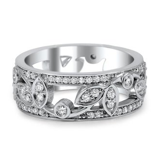 Custom wedding rings brilliant earth dynamic vine band junglespirit Images