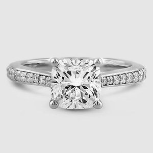 Platinum Geneva Diamond Ring