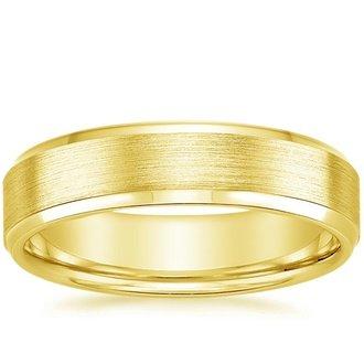 Men S Yellow Gold Wedding Bands Brilliant Earth