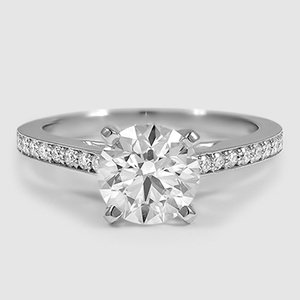 Platinum Starlight Diamond Ring