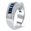 Sapphire Baguette Band, smallview