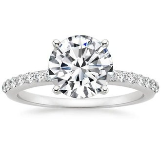 rings diamond wedding round diamondstud halo engagement circle