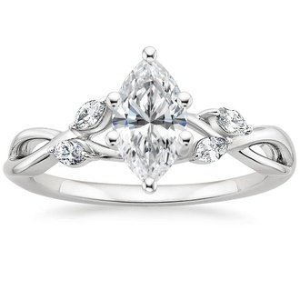 Marquise Diamond Engagement Rings Brilliant Earth