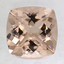 8mm Peach Cushion Morganite