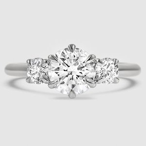 e1508223636cdf Three Stone Diamond Ring | Three Stone Catalina | Brilliant Earth