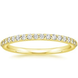 bands in pin thin diamond rings band gold yellow wedding