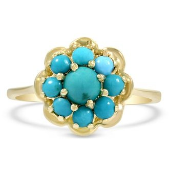 Vintage Turquoise Rings Brilliant Earth