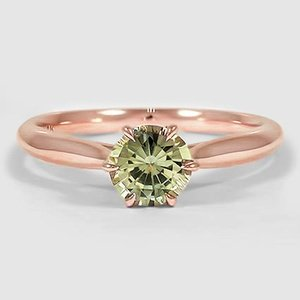14K Rose Gold Sapphire Catalina Ring