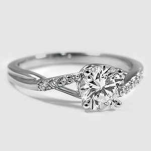 18K White Gold Chamise Diamond Ring