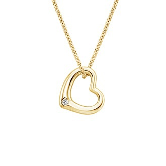 Heart Diamond Pendant Image
