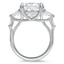 Trillion Trellis Diamond Ring, smallside view