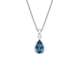 Teardrop London Blue Topaz Pendant Image