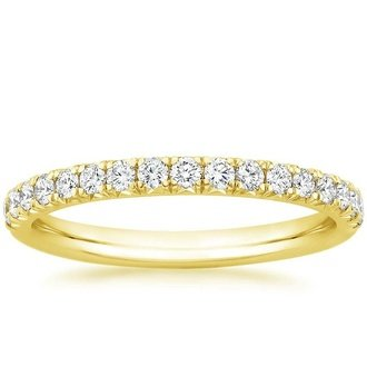 18k yellow gold amelie diamond ring - Wedding Rings Yellow Gold