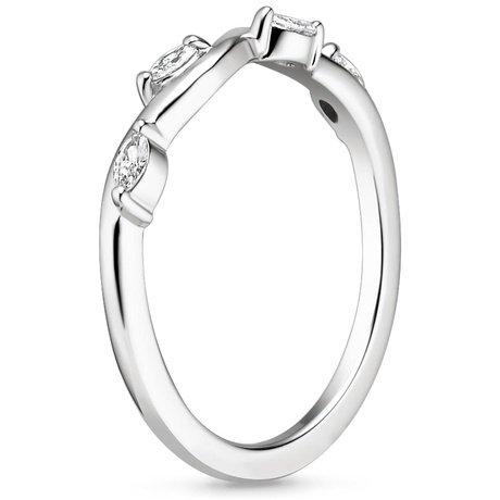 Vine Diamond Ring