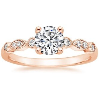 Antique vintage style engagement rings brilliant earth delicate antique scroll diamond ring 1050 want pic junglespirit Image collections