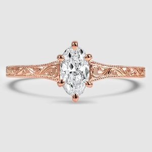 14K Rose Gold Hudson Ring