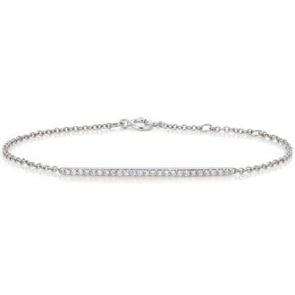 Pavé Diamond Bar Bracelet (1/4 ct. tw.) Image