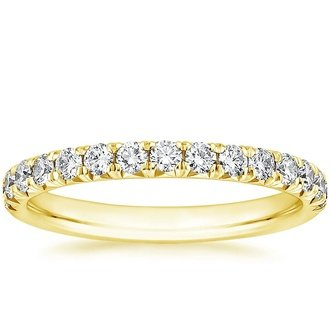 18k yellow gold sienna diamond ring - Wedding Rings Yellow Gold