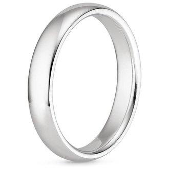 18k white gold - Wedding Ring Mens