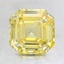 1.82 Ct. Fancy Vivid Yellow Asscher Lab Created Diamond