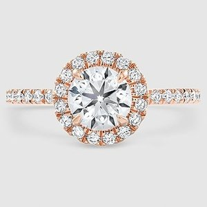 14K Rose Gold Waverly Diamond Ring (1/2 ct. tw.)