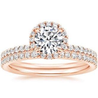 Rose Gold Bridal Sets Wedding Ring Sets Brilliant Earth