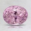 8.1x6.4mm Pink Oval Sapphire