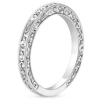 This photo 2 Diamond Platinum Ring for Girls SJ PTO 301 in India ...