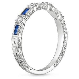 Women\'s Blue Sapphire Wedding Rings | Brilliant Earth