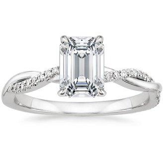 pic - Emerald Cut Wedding Ring