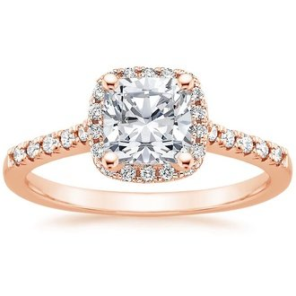 Rose Gold Engagement Rings Brilliant Earth