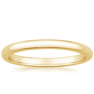 2mm Comfort Fit Wedding Ring Image