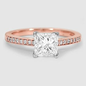 14K Rose Gold Starlight Diamond Ring