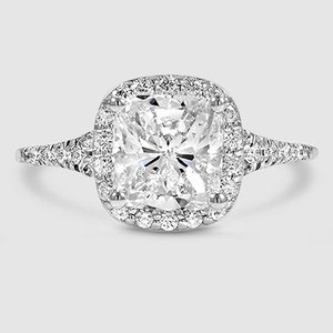 18K White Gold Harmony Diamond Ring