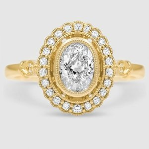 18K Yellow Gold Bella Diamond Ring